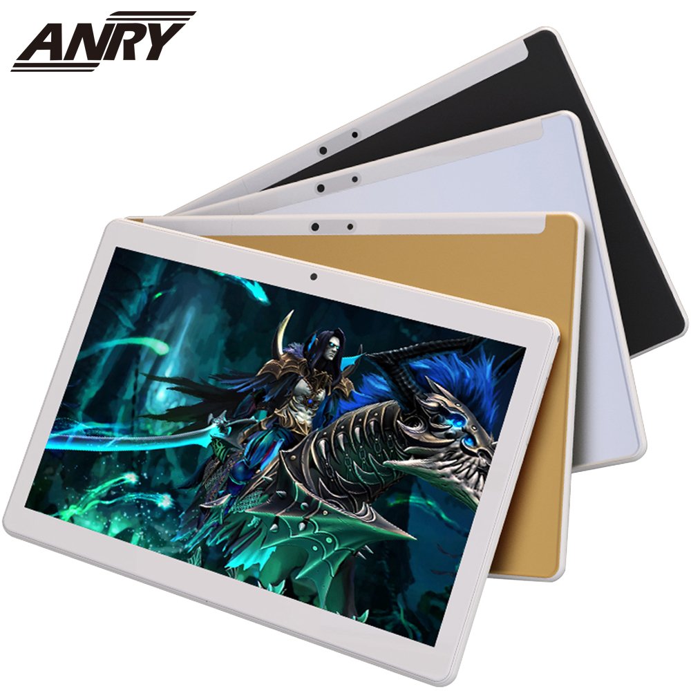 ANRY Android Tablet 10.1 Inch 3G Phone Call Wifi GPS Bluetooth 4 GB+32GB Quad Core Touch Screen Gift Tablet For Kids Children