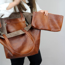 Décontracté sur de grandes femmes sacs à bandoulière concepteur sacs à main de luxe en cuir Pu souple sacs à main grand fourre-tout rétro Lady Shopper sacs à main 2021