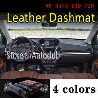 Voor Acura Mdx Yd3 2014 2016 2017 2018 2019 2020 Lederen Dashmat Dashboard Cover Dash Mat Zonnescherm Tapijt Auto Styling auto Auto