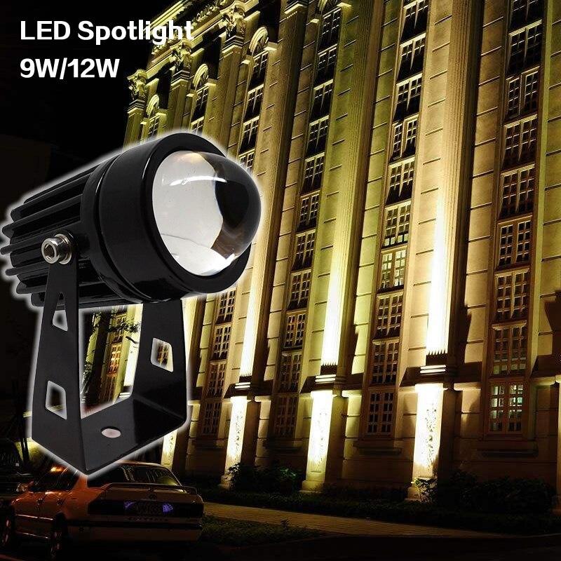 lowest price 3W 5W 7W 9W 12W COB LED Underground Light IP68 Waterproof 85-265V Outdoor Buried Lamp DC 12V Bulb for Ground Garden Landscape