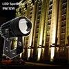 Outdoor LED spotlight 9W 12W landscape Lighting 220V Warm white Cold white RGB Wall light IP66 promo