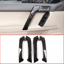 4PS Car ABS Interior Door Handle Trim For Toyota Land Cruiser Prado FJ150 150 2010-2018 Year Accessories стоимость