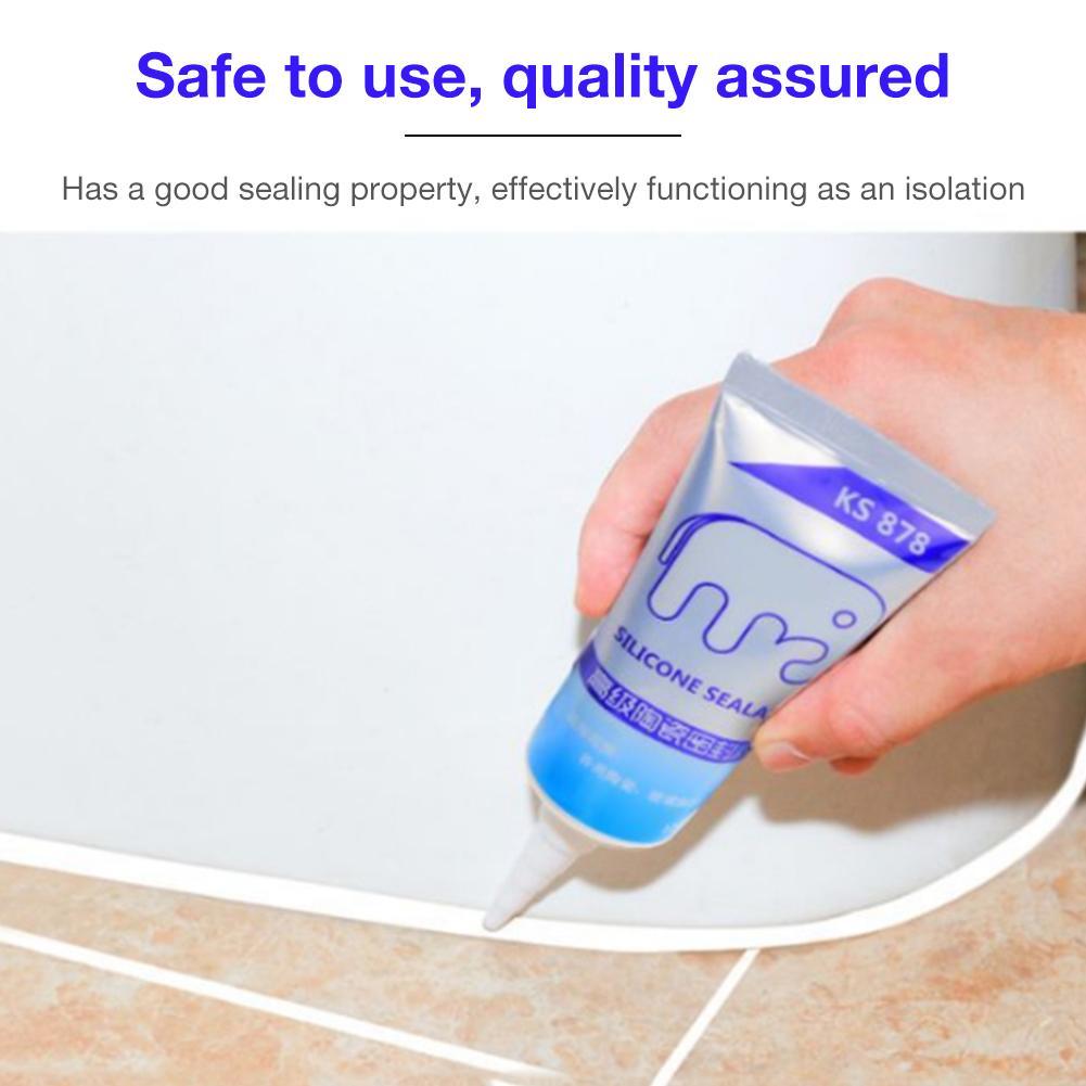Waterproof Beauty Seam Sewing Edge Wall Glue Bathroom Sealant Bathroom Home Sealant Paste Glue Shower Barrier Water Stopper