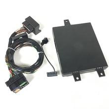 9W2 Bluetooth модуль Plug Play жгуты проводки для VW Golf MK6 Passat B6 Tiguan Jetta MK5 MK6 RCD510 микрофон 1K8035730D