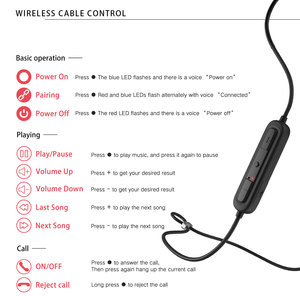 Image 5 - APTX HD Bluetooth 5.0 Earphone Line mmcx 0.78mm Adapter Cable Lossless HiFi IPX5 Waterproof Headset Upgrade Line Support CVC SBC