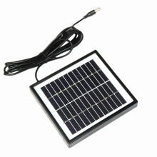 2W 12V Solar Cell Module Polycrystalline Diy Solar Panel System For 9V Battery Charger+Dc 5521 Cable 3 Meter