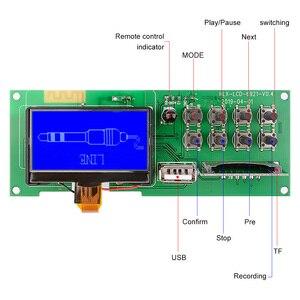 Image 2 - AIYIMA Bluetooth 5.0 Audio MP3 dekoder bezprzewodowy samochód USB MP3 odtwarzacz karty SD FM dekodowania wyżywienie wsparcie, gdy jest możliwość ściągnąć fonogram minusowy (moduł wyświetlacza 5V
