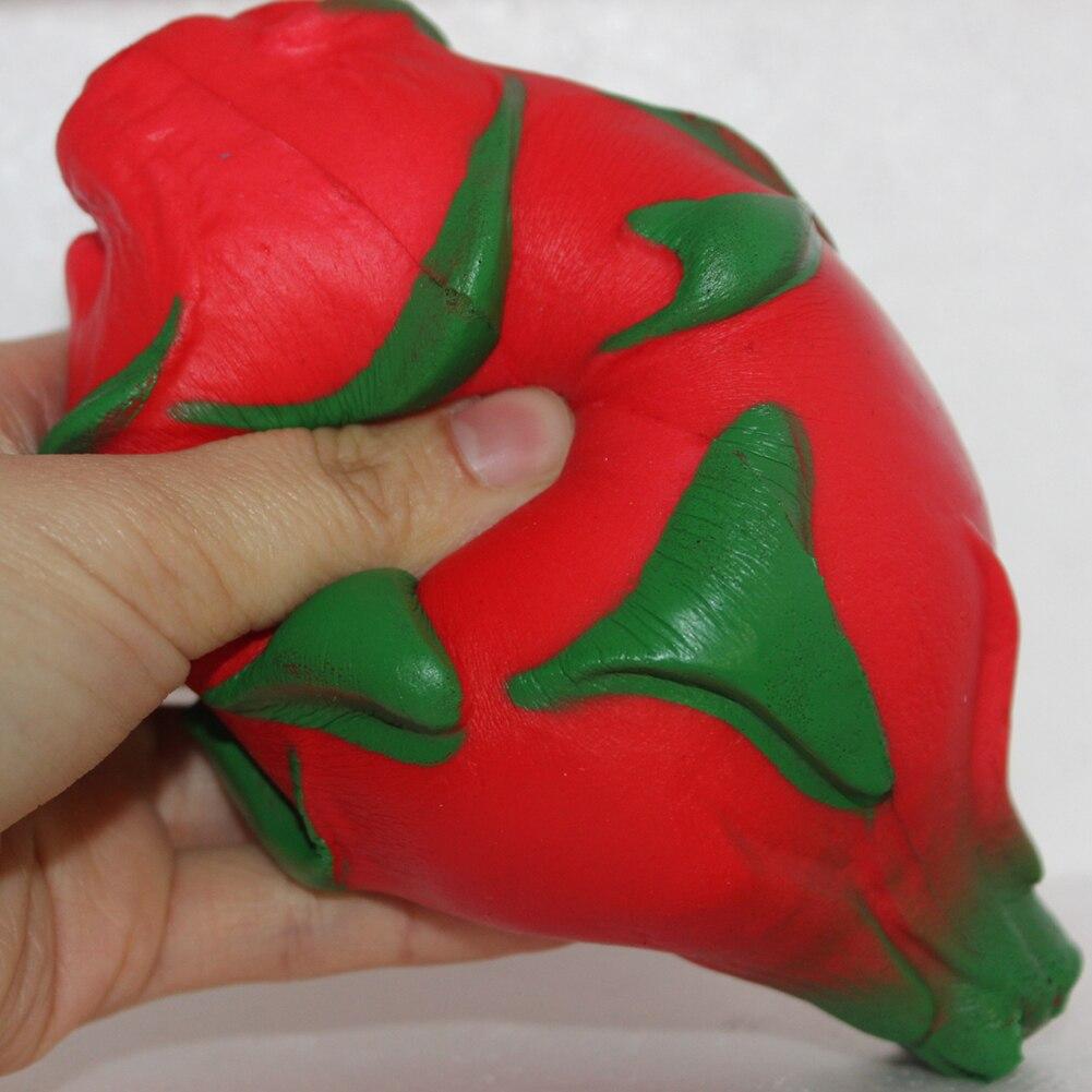 Slow Rebound Imitation Soft Dragon Fruit Relieve Stress