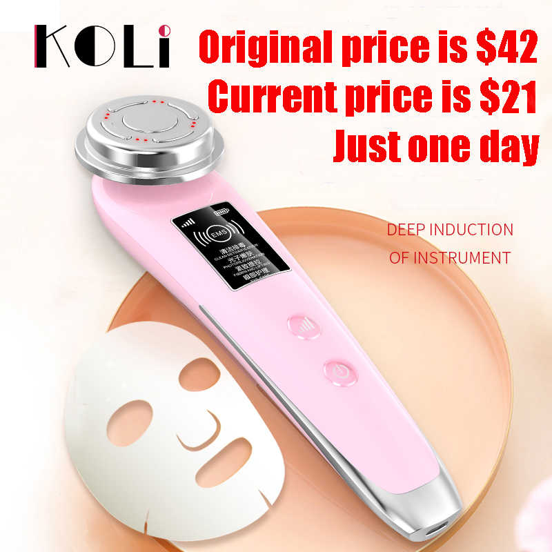 NUOPEI yeni RF EMS güzellik enstrüman kadın yüz bakımı aracı göz bakım araçları güzellik makinesi cilt bakımı cihazı güzellik cihazları
