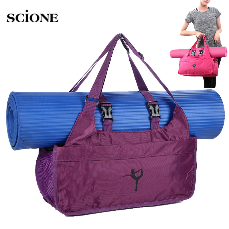 Yoga Mat Bag Gym Bags Dry Wet Fitness Bag For Women 2019 Sac De Sport Men Sports Sporttas Bolsa Deporte Mujer Tas Dancing XA67WA