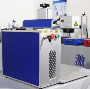 Image 4 - 30W split fiber laser marking machine metal marking machine laser engraver machine Nameplate laser marking mach stainless steel