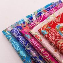 Designer satin fabric brocade jacquard clothing fabrics sewing cheongsam kimono for DIY patchwork seam garment material