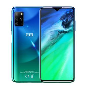 """ELEPHONE E10 Smartphone 4GB 64GB 6.5 """"écran goutte d'eau 48MP Quad arrière caméras Octa Core 4000mAh Android 10.0 téléphones mobiles NFC 8"""