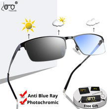 VANLOOK – lunettes de soleil photochromiques pour homme, verres caméléon bloquant la lumière bleue, pour ordinateur, protection uv 400