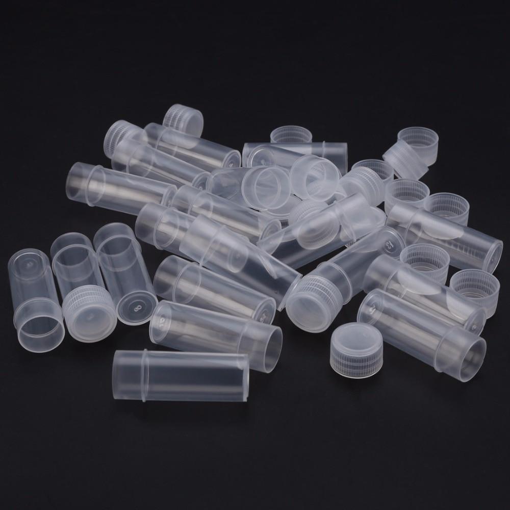 10/20 шт косметика парфюмерия диспенсер 5 мл пластиковый флакон для образцов небольшей бутылки пробирки Мини бутылки контейнеры для хранения ...