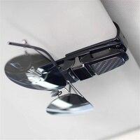 Soporte para lentes de coche, Clip de almacenamiento para lentes de sol, organizador Interior automático para Audi y Bmw, accesorios