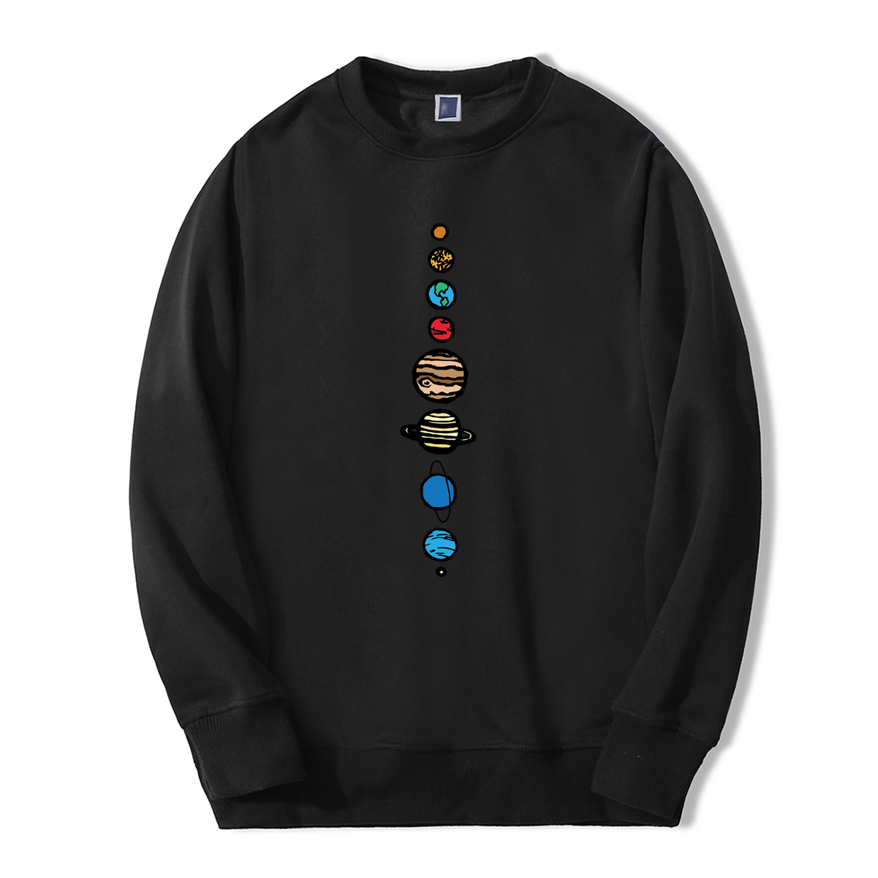 Planets Colour Men Hoodie 2019 Autumn Winter Warm Fleece High Quality Sweatshirts Creative Design Funny Fashion Fitness Hoodies