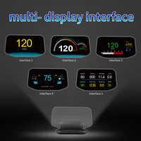 HD Auf Board Computer HUD Spiegel Auto Head up Display Dual System OBD2 + GPS 2 in 1 Geschwindigkeit projektor Sicherheit Alarm Wasser Temp Kraftstoff