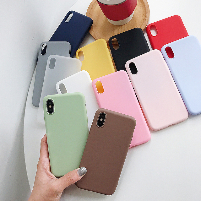 For Xiaomi Redmi Note 7 10 8T 8 Pro 6 5 Plus 4 4X 5A 6A Case Soft Silicone Cover For Red mi Note8 8A Note 5 7A 9A 9C 9T 9S 9 Pro 1
