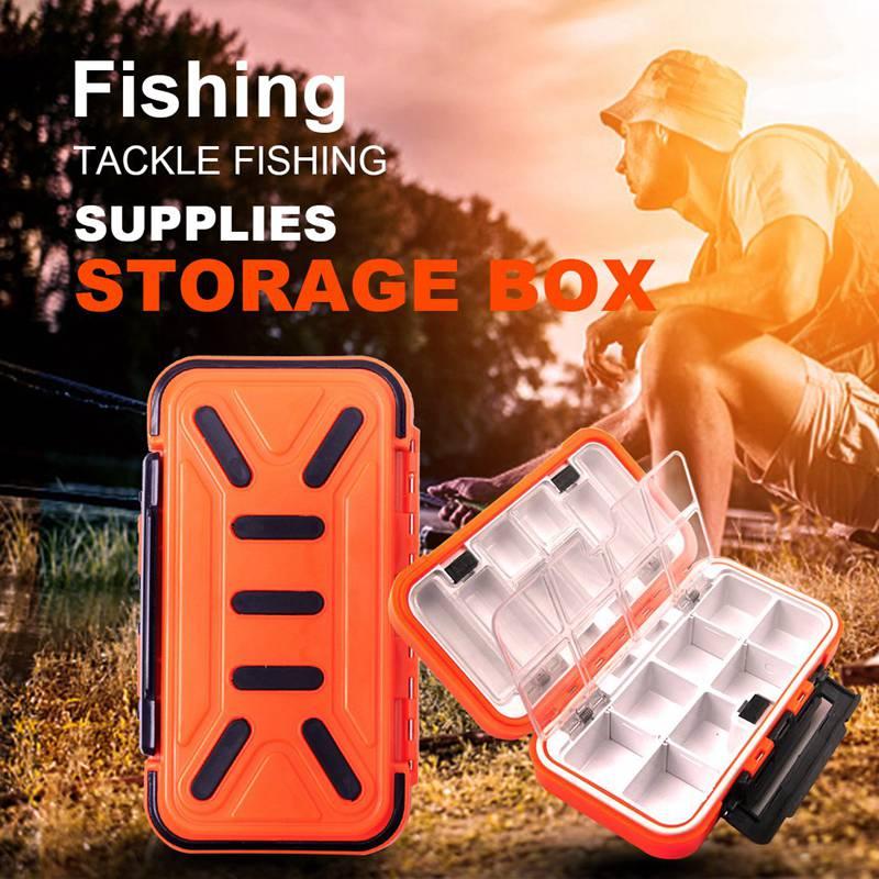 16 waterproof fishing box hook accessories box fishing tackle fishing supplies storage box multi purpose tool box|Fishing Tackle Boxes| |  - title=