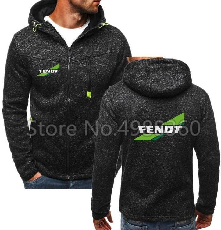 2019 Spring Autumn Fashion Hoodies Male Large Size Warm Fleece Coat Fendt Logo Men KMD Brand Hoodies Sweatshirts