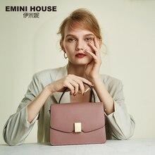 EMINI HAUS Vorhängeschloss Handtasche Luxus Handtaschen Frauen Taschen Designer Split Leder Umhängetaschen Für Frauen Schulter Tasche