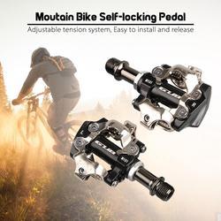 HiMISS MTB Mountain Bike samoblokujące pedały ze stopu aluminium CR-MO pedały rowerowe akcesoria rowerowe pedał rowerowy