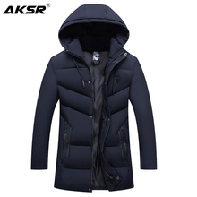 Mens Winter Jacket Hooded Thick Warm Winter jacket Coat for Men Large Size Windbreaker Parkas Coats Jackets Men clothing