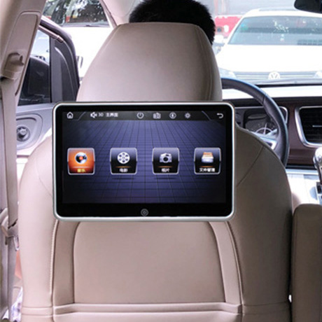 Pillow Monitor Dvd-Headrest Av-Player Digital-Screen Wireless Car MP5 LED Remote-Control title=