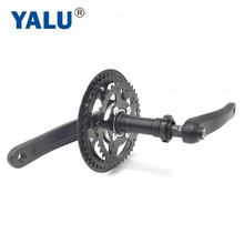 Crankset Motor-Kit Clutch Electric-Bicycle-Chainwheel for Middle-Drive Freewheel