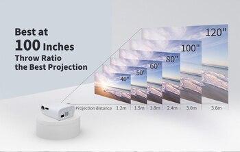 Светодиодный проектор WZATCO E600 4K 4