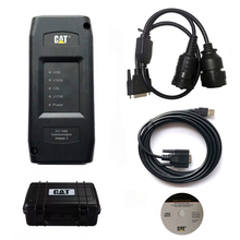2020 echt KATZE ET3 Adapter III 317 7485 2015A 9 + 14 pin 2 in 1 kabel lkw diagnose werkzeug CAT Kommunikation III CAT3 ohne WIFI