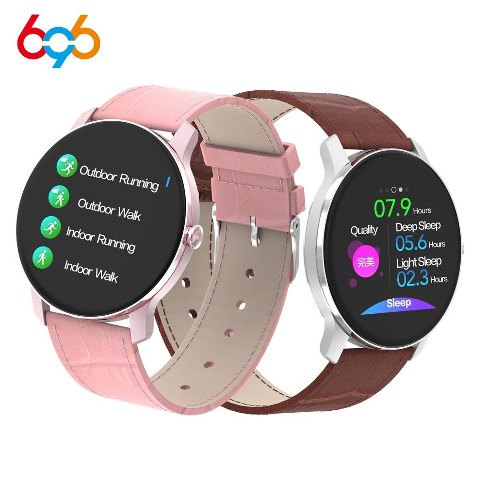 696 T90 Smart Watch All-Touch Heart Rate Sleep Monitoring Information Push IP67 Waterproof Multi-function Sports Smart Bracelet