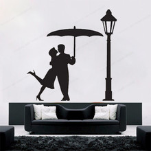 couple bedroom romantic bedroom wall sticker mr and mrs couple home decoration vinyl art removable poster mural beauty decorw167 in the Rain Couple Romantic Street Light wall Decal home wall sticker vinyl removable wall art mural JH349