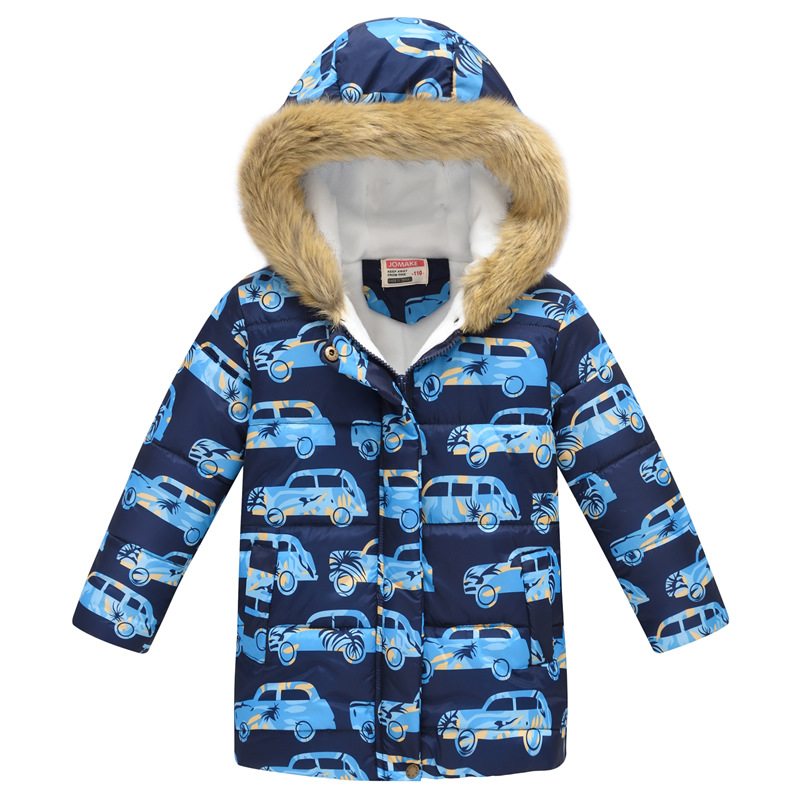 35 Colors Winter Children Coat Baby Girl&Boys Warm Jacket Kids Fashion Printed Outerwear Children's Christmas Costume For Kids