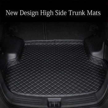 Custom fit car trunk mats for Toyota Corolla RAV4 Mark X Crown Verso FJ Cruiser yaris L 6D car-styling carpet floor liner