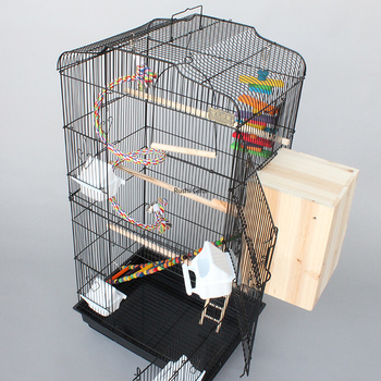 Large Metal Bird House