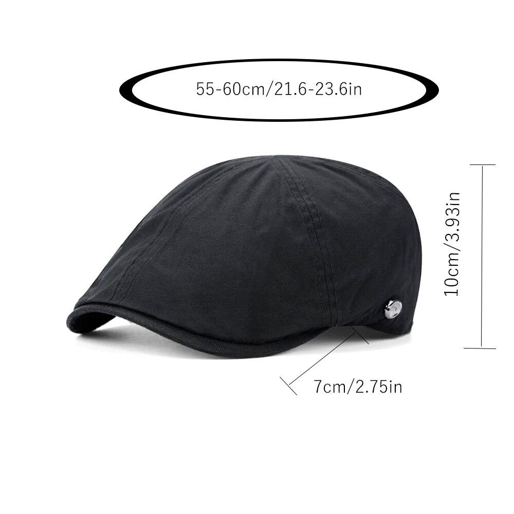 Men 39 s Cap 100 Cotton Visors Simple Retro Berets For Men Autumn Winter New Style Vintage Sun Visor Caps For Women Female Hat in Men 39 s Visors from Apparel Accessories