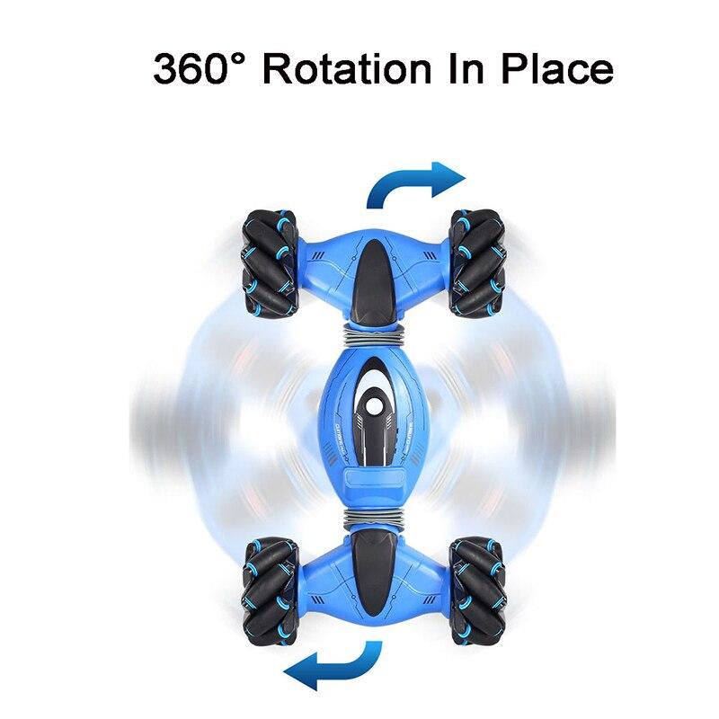Управление жестами двусторонний трюк автомобиль жесты зондирования скручивание RC деформации автомобиль дрейф игрушка Подарки - 6
