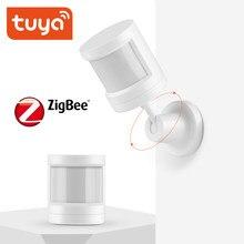 Tuya ZigBee – capteur de mouvement PIR intelligent IFTTT, sans fil, alimenté par batterie, système d'alarme domestique