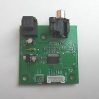 I2S zu SPDIF koaxial optische ausgang bord/IIS eingang koaxial ausgang Unterstützung probenahme 44 1 K ~ 192K