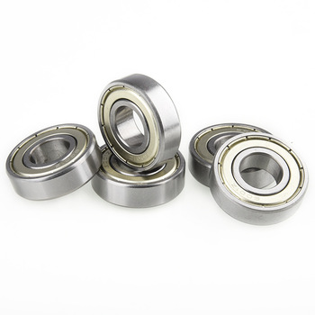 5Pcs 6801ZZ bearing size 12 * 21 * 5 rolling bearing hardware mechanical and electrical deep groove ball bearing image