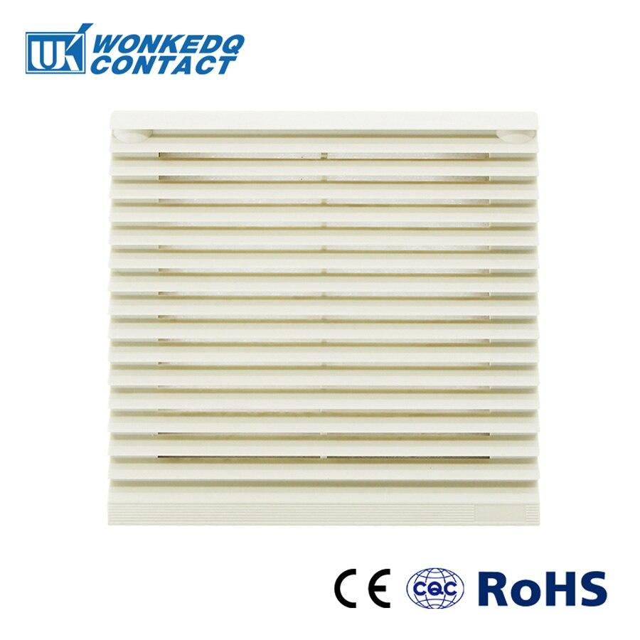 Cabinet  Ventilation Filter Set Shutters Cover Fan Grille Air Ventilation System Fan Filter FK-3321-230 With Fan