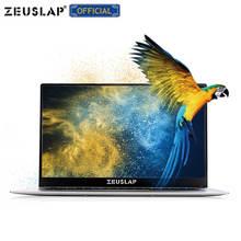 15.6inch 6GB Ram 128GB SSD Ultrathin Intel Apollo Lake Quad Core CPU 1920X1080P Full HD IPS Screen