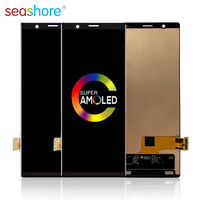 """6.1""""ORIGINAL For SONY Xperia 5 LCD Touch Screen Digitizer Assembly For Sony X5 Display with Frame Replacement J8210 J8270 J9210"""