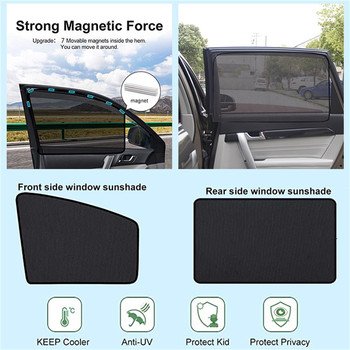 Car Window Sunshade Cover Block For Kids Car Side Window Shade Cling Sunshades Sun Shade Cover Visor Shield Screen Hot image