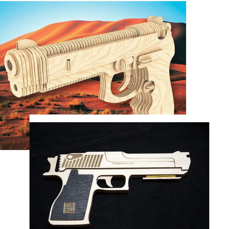 Games Pistol Gun Rifle Machine Gun Vector Design Files For CNC Laser Cutting Engraving Drawing Files