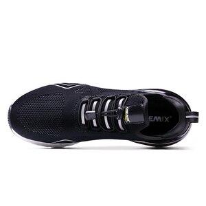 Image 4 - Onemix男性ランニングシューズスポーツハーフ空気クッションスリップ靴運動屋外trainning靴ウォーキングジョギングスニーカー