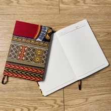 ankara Notebook A5 School Office Hard Cover Yearly Monthly Planning Papers Journal Daily Mem african accessories