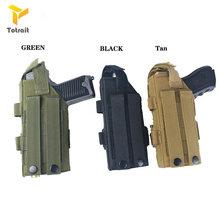 Totrait тактическая кобура для пистолетов серии glock molle